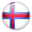 Faroe Islands country flag