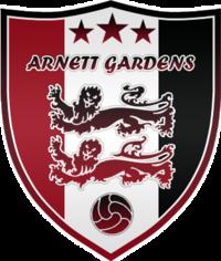 Arnett Gardens team logo