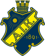 AIK Stockholm team logo