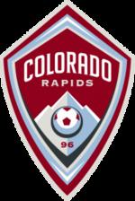 Colorado Rapids team logo