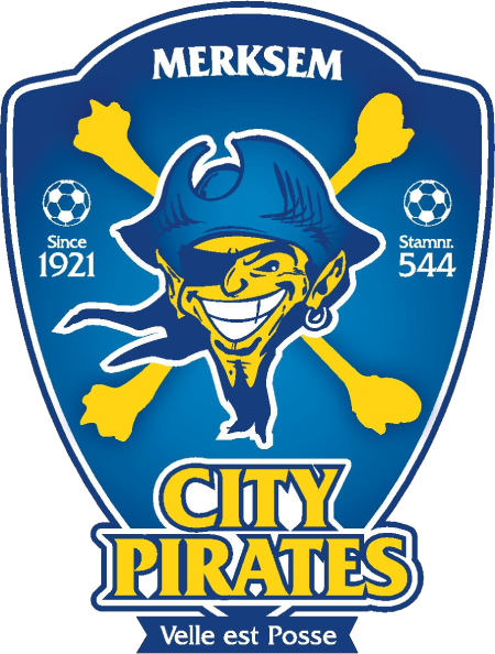City Pirates Merksem team logo