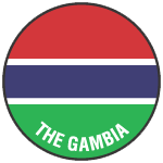 Gambia team logo