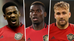 Blow for Man Utd as Martial, Pogba & Shaw to miss West Ham clash but Solskjaer