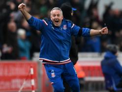 Stoke City 2 Huddersfield Town 0: Lambert makes winning start as Potters inch out of bottom three