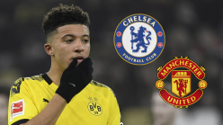 Manchester United lead Chelsea in chase for Dortmund star Sancho