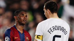 WATCH: 'Eto'o, he had mad pace' - Rio Ferdinand recalls Africa's greatest strikers