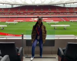WorldRemit and Arsenal celebrate first female Future Stars winner