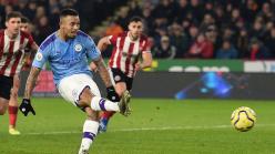 Gabriel Jesus not frightened of penalties despite Man City striker
