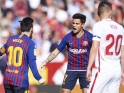 Sevilla 2 Barcelona 4: Messi hat-trick saves LaLiga leaders