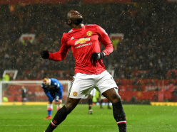 Manchester United 3 Stoke City 0: Valencia, Martial and Lukaku trim gap at the top