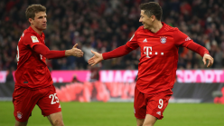Bayern record 34-year Bundesliga high as Lewandowski matches Gerd Muller goal feat