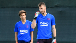 Barcelona could lose goalkeeper Neto to injury