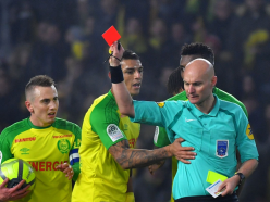 VIDEO: 'If a player did that, he'd be banned for 10 matches!' – Nantes players fume at referee kick