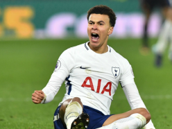 Mind games: Rooney shows Alli that it