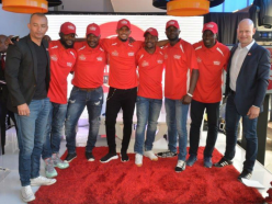 EXTRA TIME: South African football legends meet Samuel Etoó