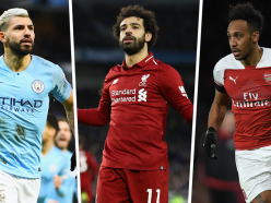 Premier League top scorers 2018-19: Salah, Aubameyang & Aguero lead the race