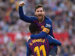 Messi scores 50th career hat-trick in Barcelona win
