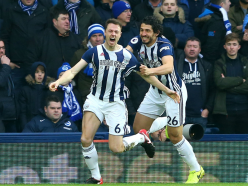 West Brom 2 Brighton and Hove Albion 0: Set-piece specials end league win drought
