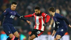 Southampton 1-1 Tottenham: Boufal makes late pressure count