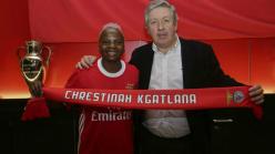 Kgatlana: Benfica sign Bayana Bayana striker
