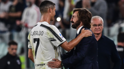 Juventus boss Pirlo reveals Ronaldo plans as Bonucci picks up another injury in Hellas Verona draw