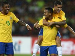 Jesus, Paulinho and Coutinho - Brazil