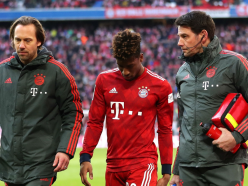 Coman forced off as Bayern hold on to beat Hertha