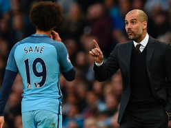 Guardiola confirms Man City are working on new Sane deal