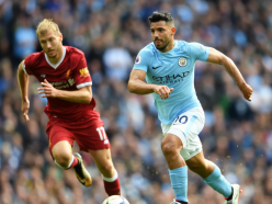 Record goalscorer Aguero backed by Guardiola to break duck and end Anfield woes