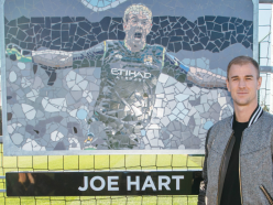 Man City honour Joe Hart by naming training pitch after him