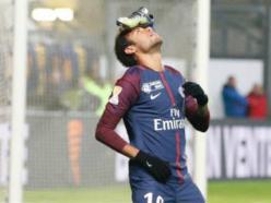 Amiens 0 Paris Saint-Germain 2: Neymar reaches 20 goals as visitors ease through