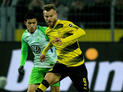 Borussia Dortmund 0 Wolfsburg 0: Sanctioned Aubameyang sorely missed by wasteful hosts