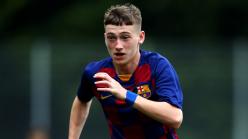 Aston Villa raid Barcelona for teenage forward Louie Barry