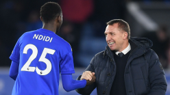 Ndidi is genetically blessed - Leicester City boss Rodgers
