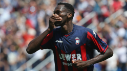 Nwankwo scores as Crotone bow to Amrabat's Fiorentina