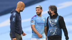 Injured Aguero to miss Manchester City