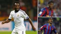 El Clasico: Ranking greatest Africans to play for Real Madrid or Barcelona