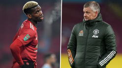 Man Utd boss Solskjaer says he has open and direct conversations with Pogba