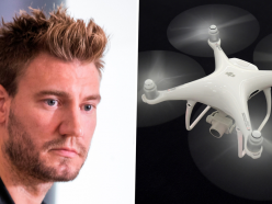 Bendtner to sell house after being spied on by drone during