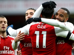 Arsenal 4 Crystal Palace 1: Early blitz means Sanchez is hardly missed