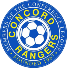 Concord Rangers team logo
