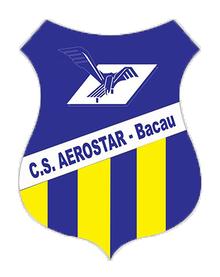 Logotipo da equipe Aerostar Bacau