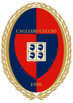 Cagliari team logo