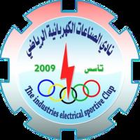 Al-Sinaat Al-Kahrabaiya team logo
