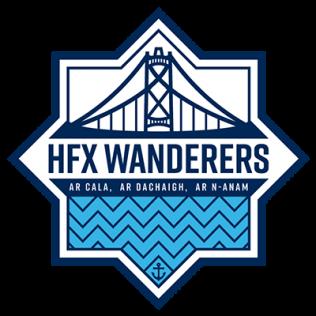 Logotipo da equipe HFX Wanderers