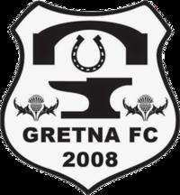 Gretna FC 2008 team logo