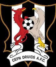 Logotipo da equipe Cefn Druids AFC