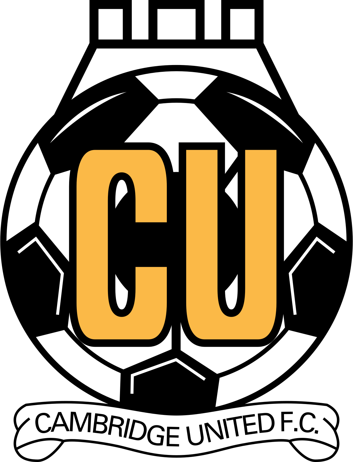Cambridge United team logo