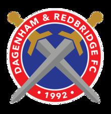 Dagenham and Redbridge team logo
