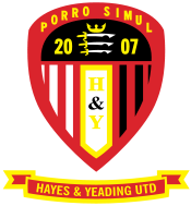 Hayes and Yeading team logo
